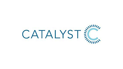 Catalyst logo.